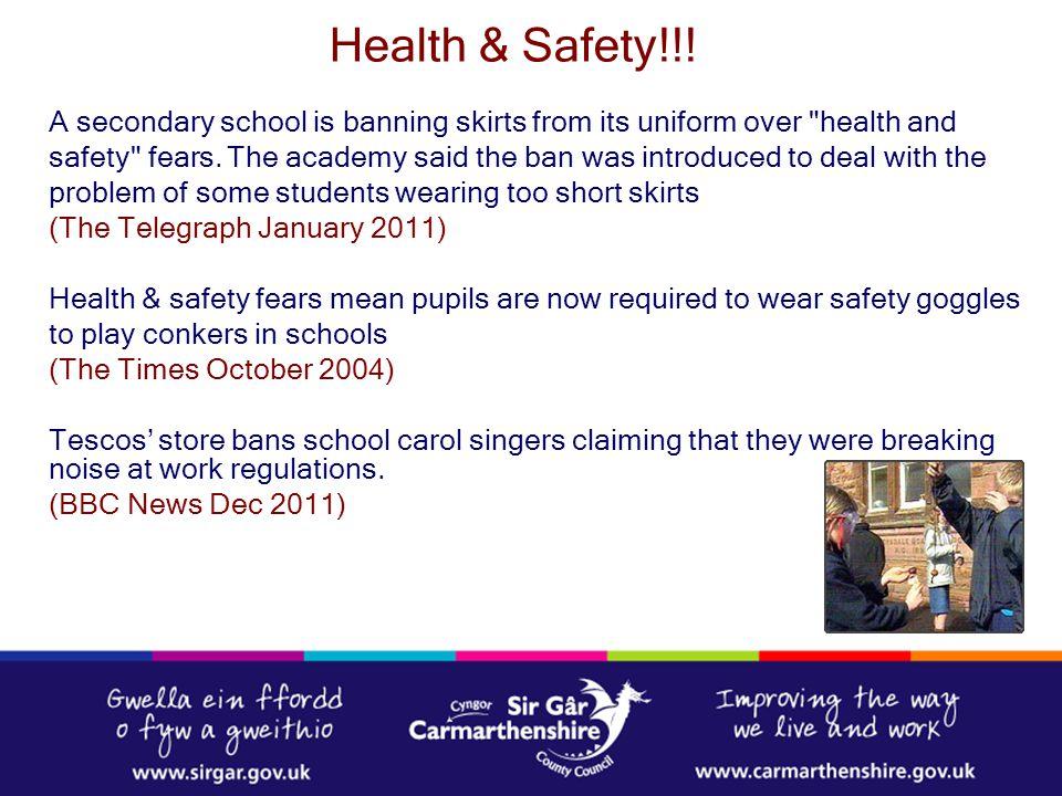Health & Safety!!!