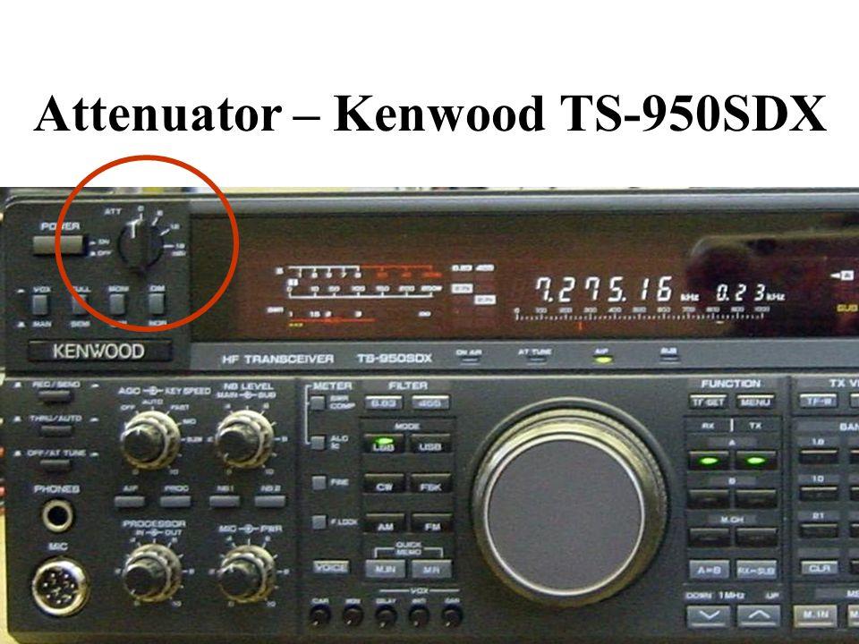 Attenuator – Kenwood TS-950SDX