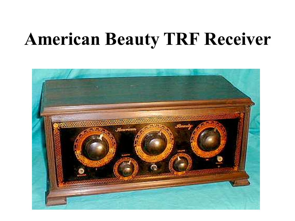 American Beauty TRF Receiver