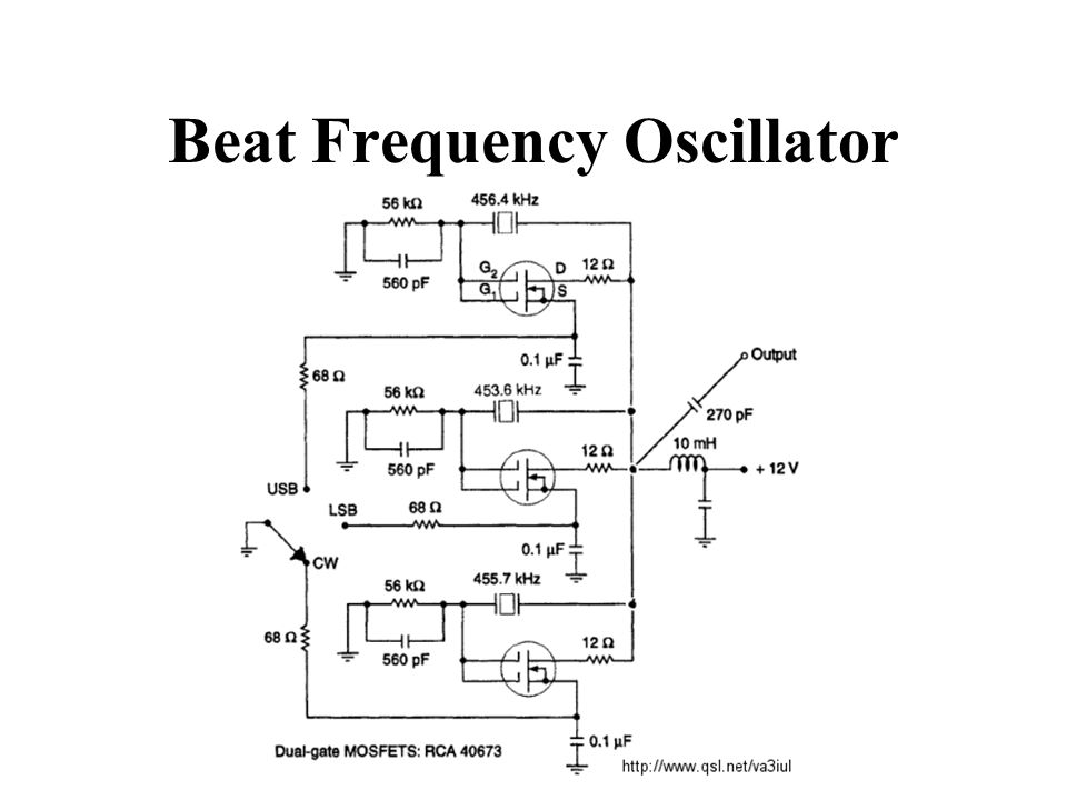 Beat Frequency Oscillator
