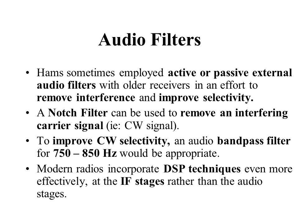 Audio Filters