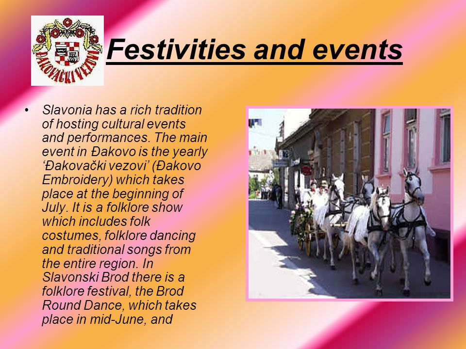 Festivities and events