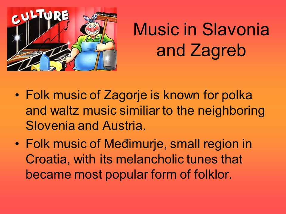 Music in Slavonia and Zagreb