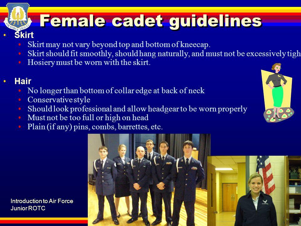 Female cadet guidelines