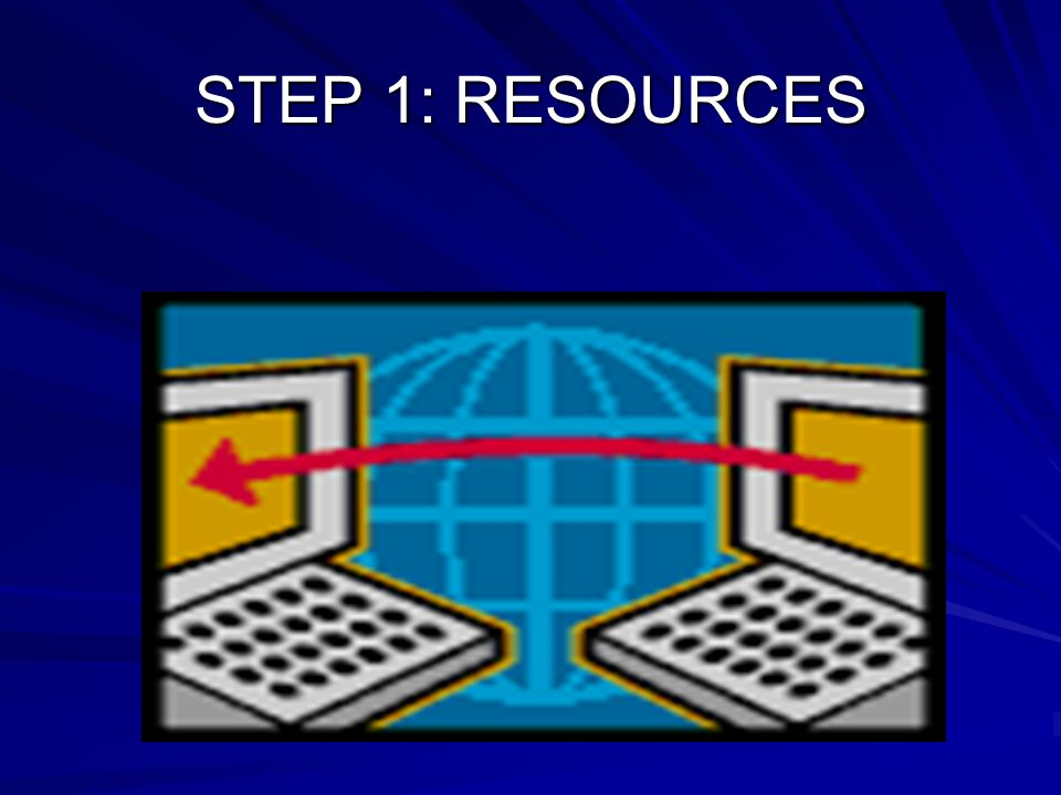 STEP 1: RESOURCES