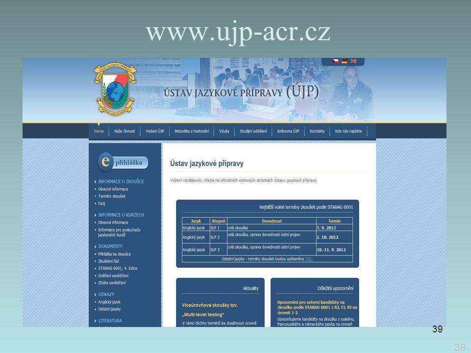 www.ujp-acr.cz 39