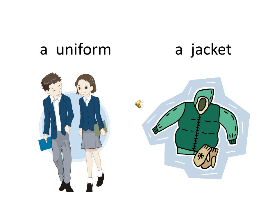 a uniform a jacket