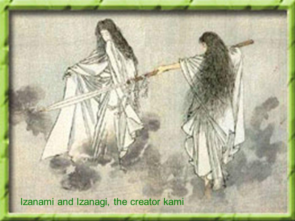 Izanami and Izanagi, the creator kami