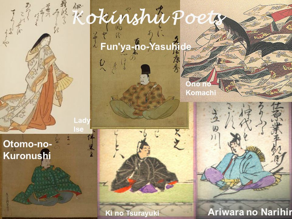 courtly literature in medieval ppt  25 kokinshu