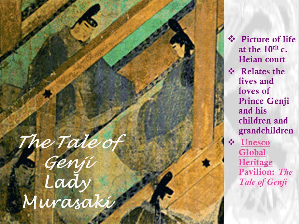 The Tale of Genji Lady Murasaki