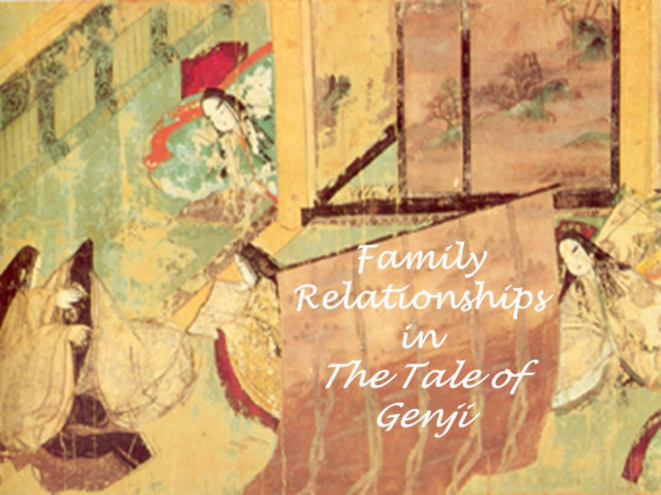 Family Relationships in The Tale of Genji