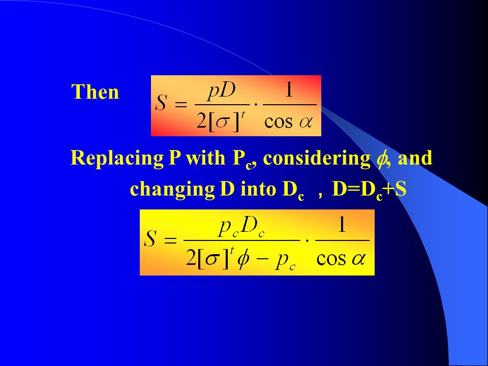 Then Replacing P with Pc, considering , and changing D into Dc ,D=Dc+S