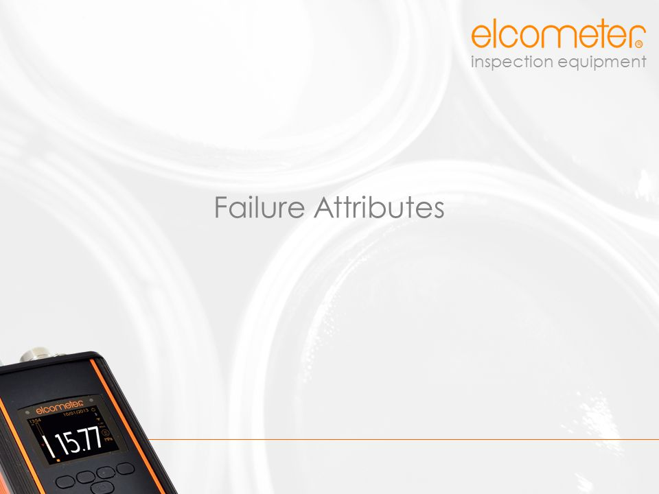 Failure Attributes
