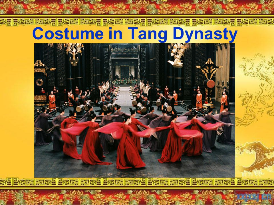 Costume in Tang Dynasty