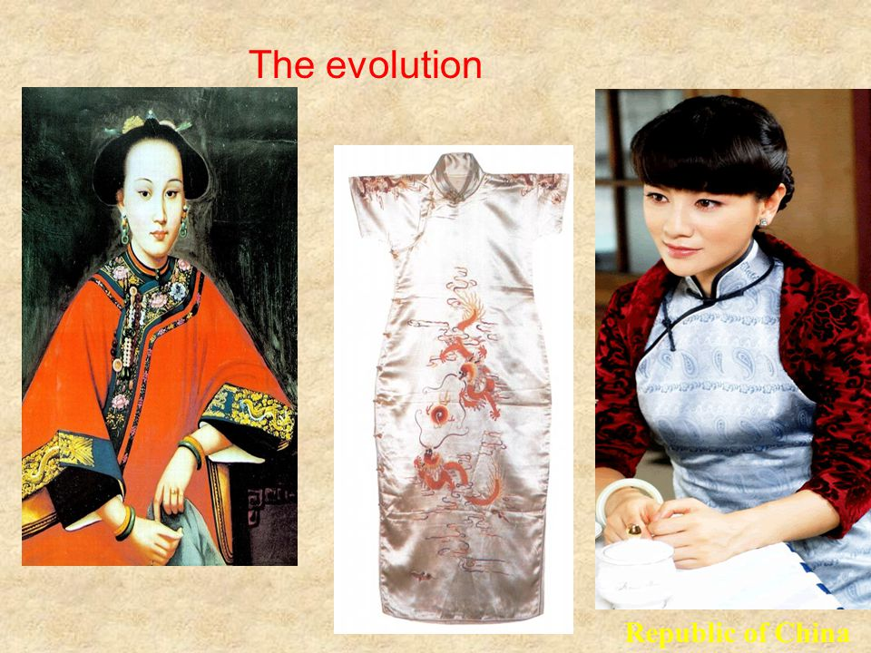 The evolution Republic of China