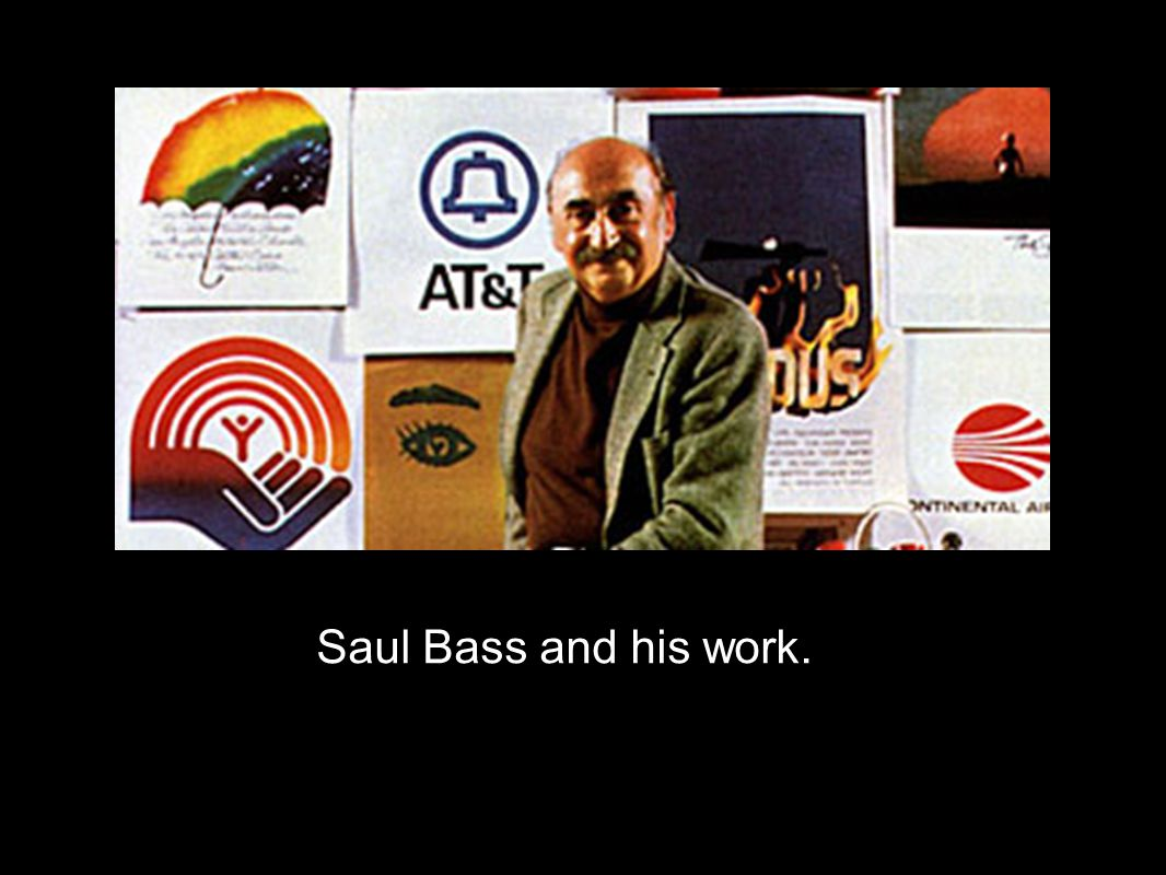 Saul Bass and his work.
