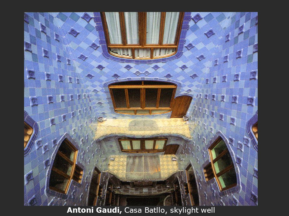 Antoni Gaudi, Casa Batllo, skylight well