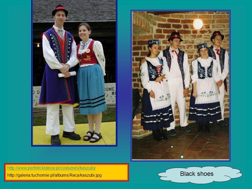 Black shoes http://www.perfekt.krakow.pl/costumes/kaszuby