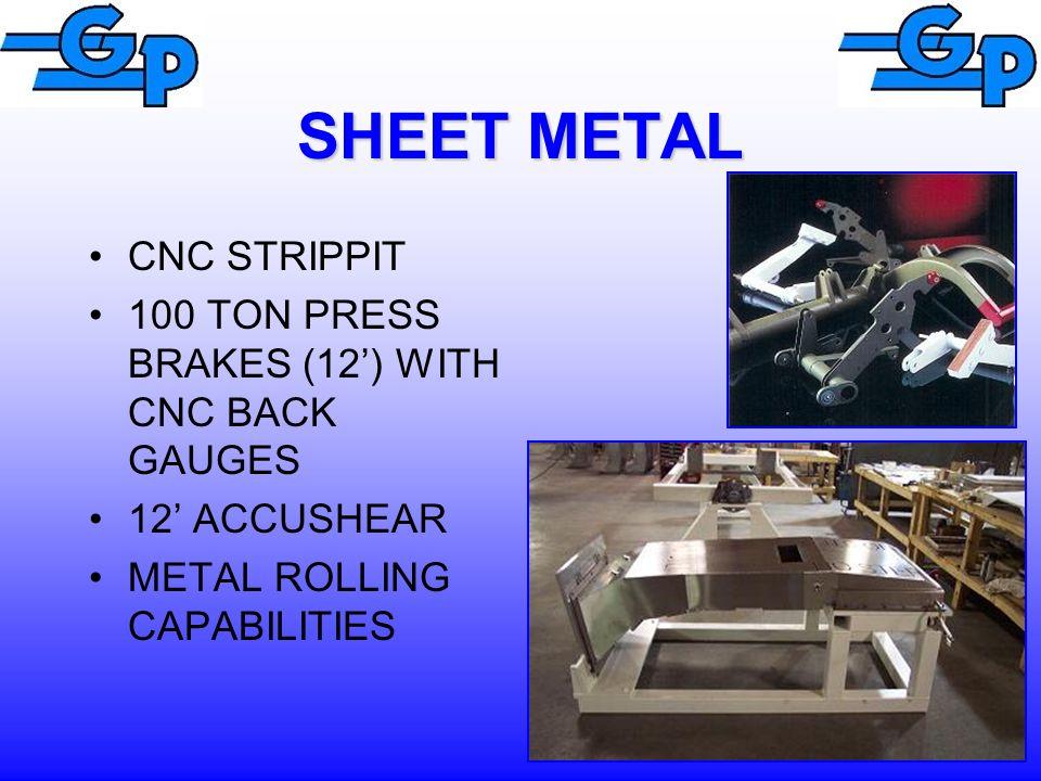SHEET METAL CNC STRIPPIT