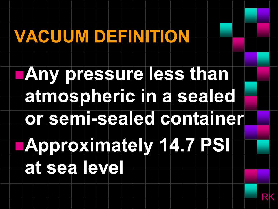 Approximately 14.7 PSI at sea level