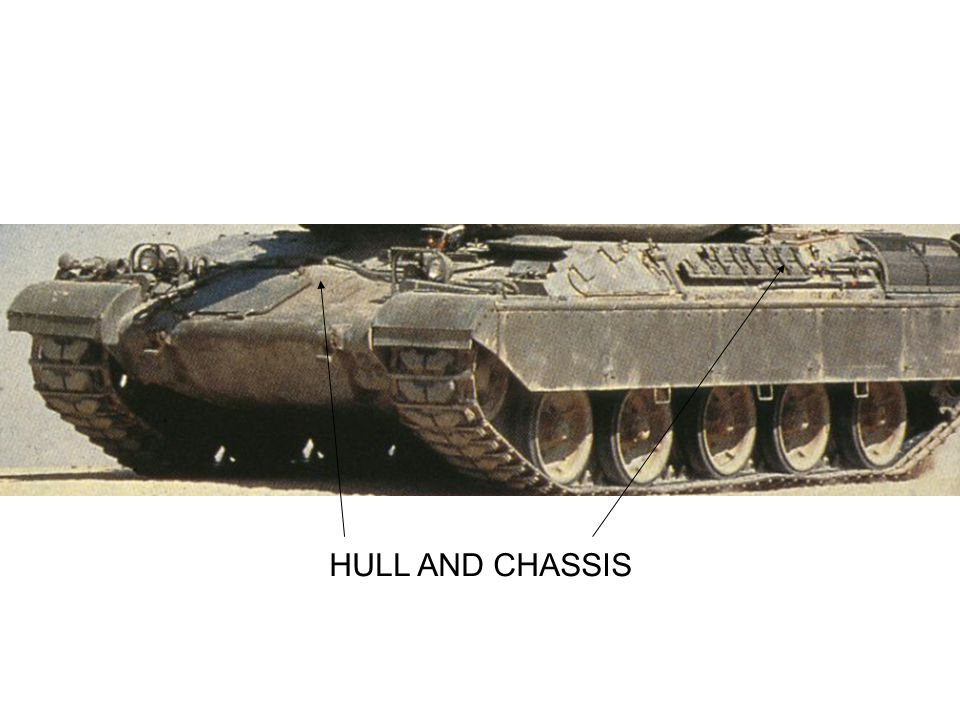 HULL AND CHASSIS