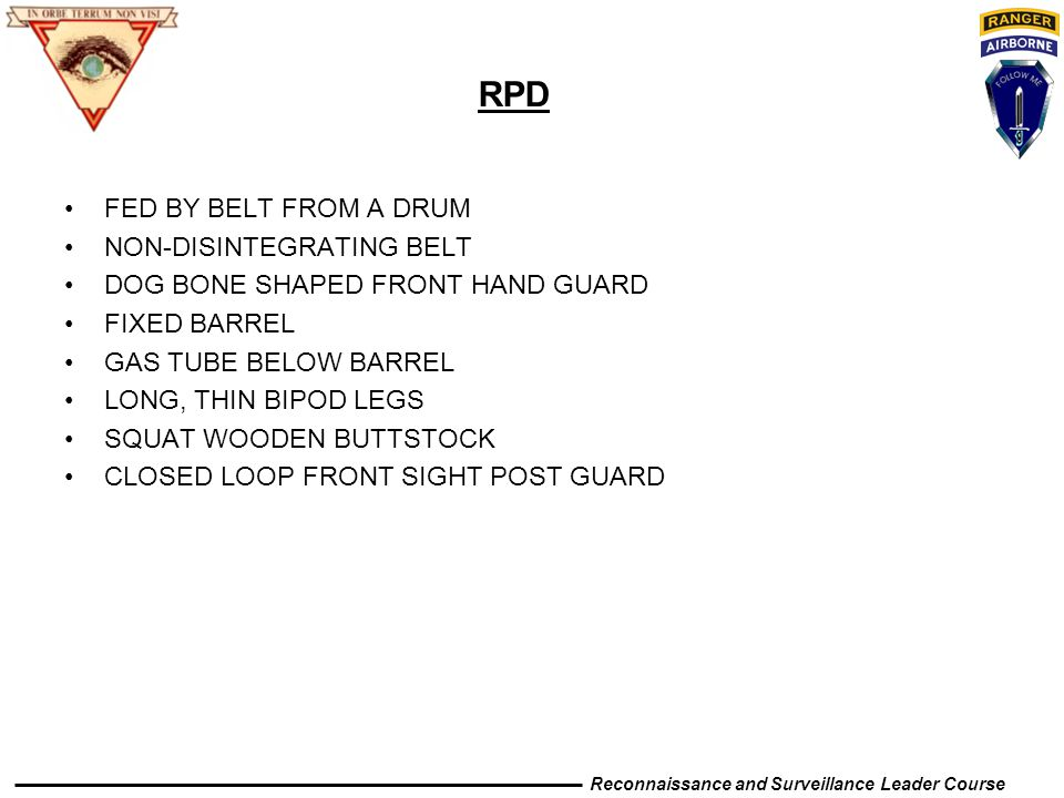 RPD FED BY BELT FROM A DRUM NON-DISINTEGRATING BELT