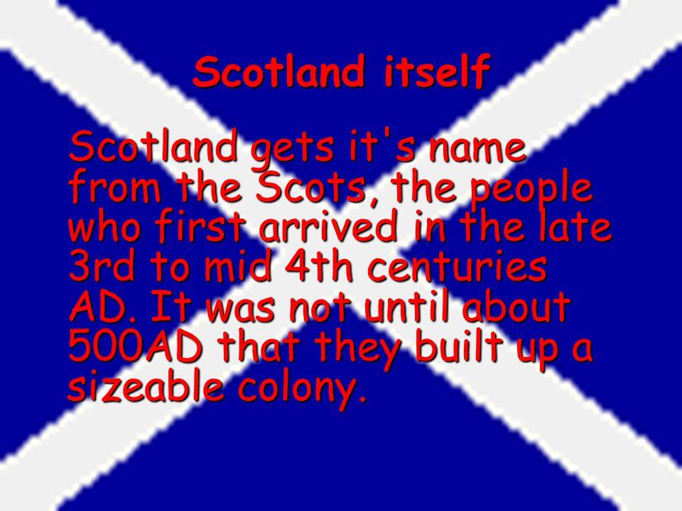 Scotland itself