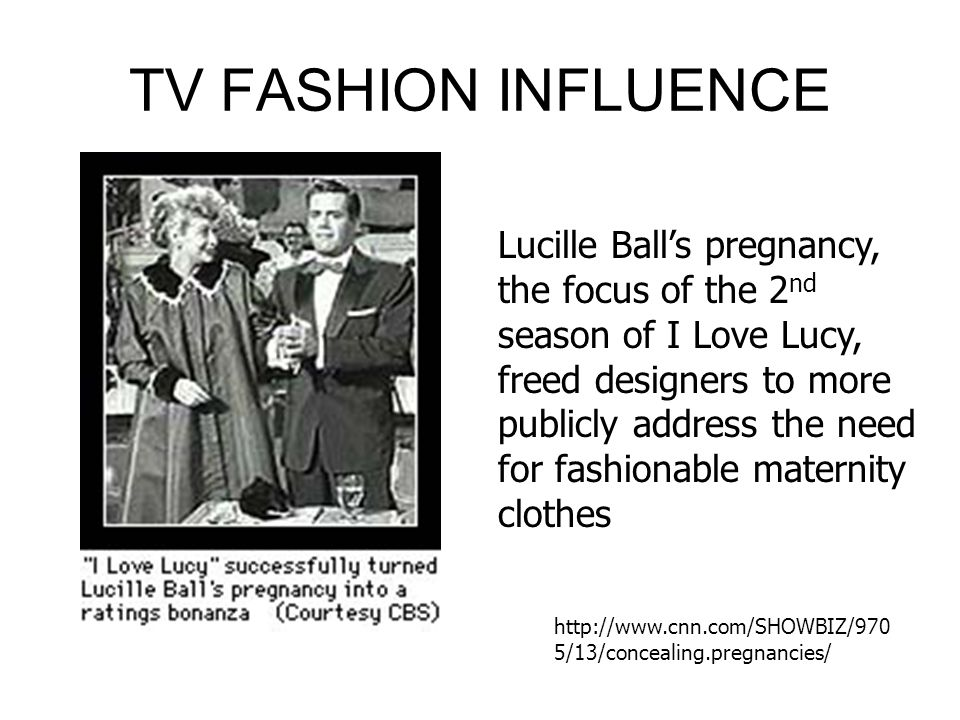 TV FASHION INFLUENCE