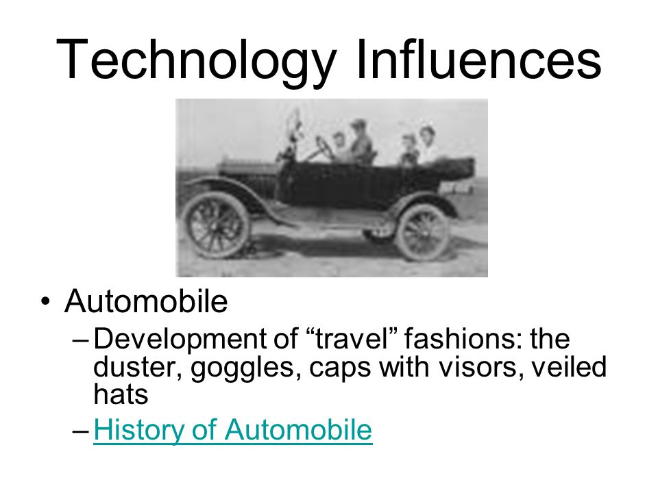 Technology Influences