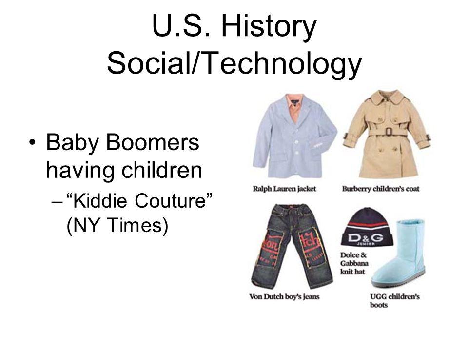 U.S. History Social/Technology