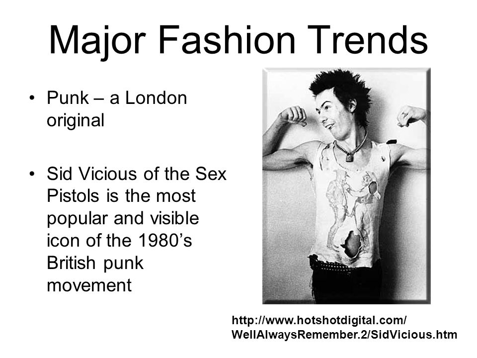 Major Fashion Trends Punk – a London original