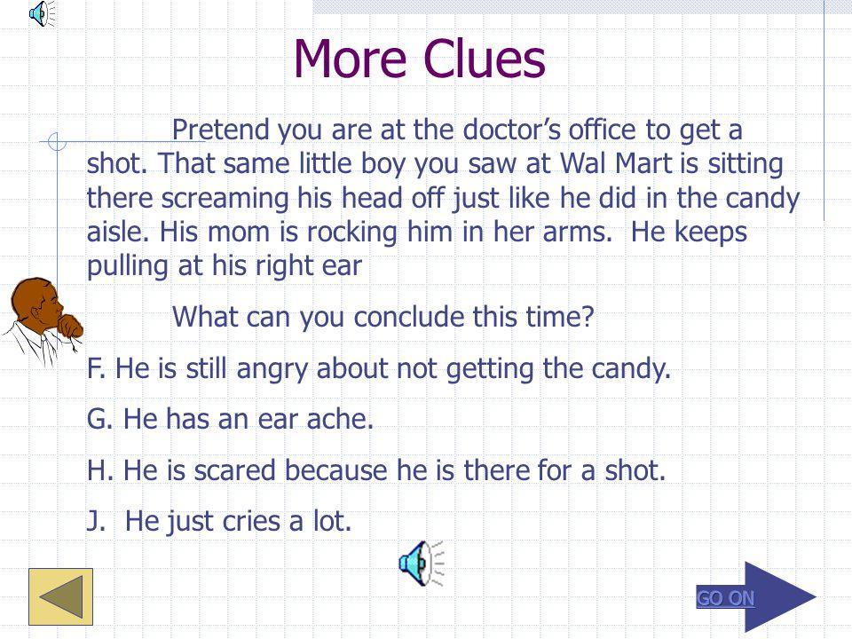 More Clues