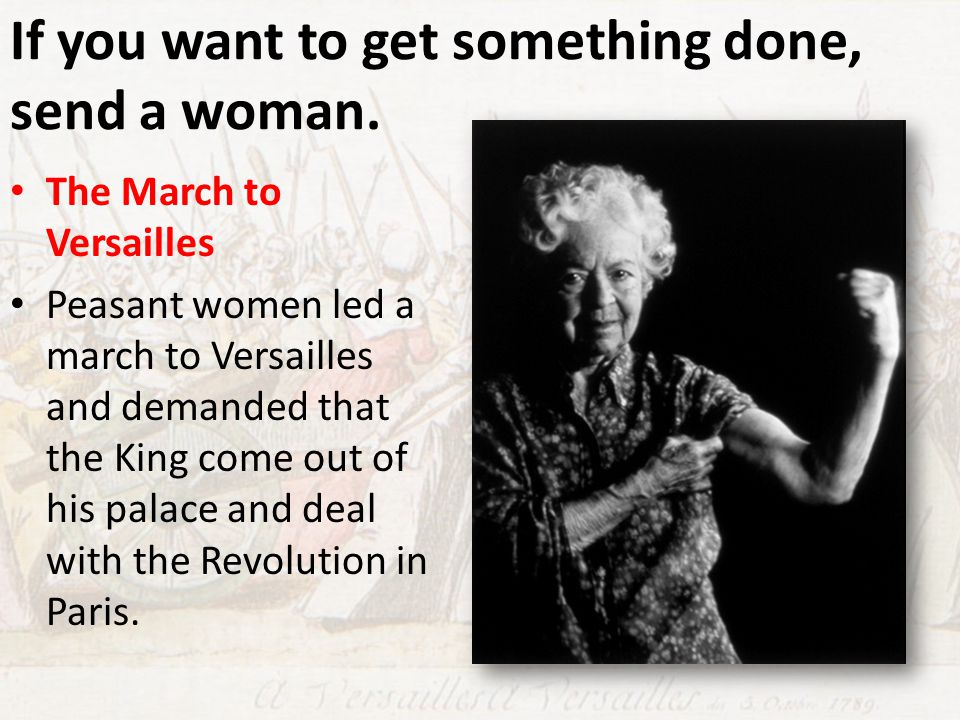If you want to get something done, send a woman.