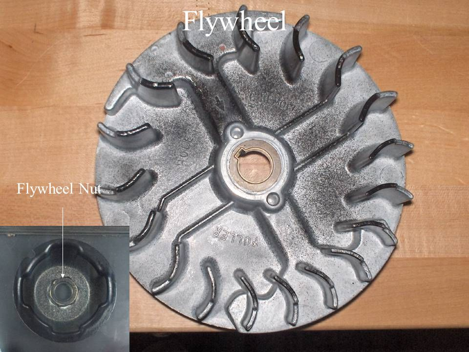 Flywheel Flywheel Nut