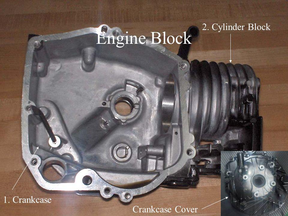 Engine Block 2. Cylinder Block 1. Crankcase Crankcase Cover