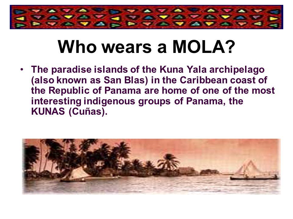 Who wears a MOLA