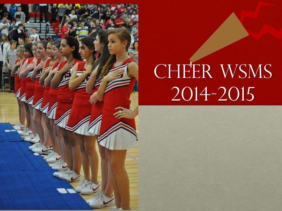 CHEER WSMS 2014-2015