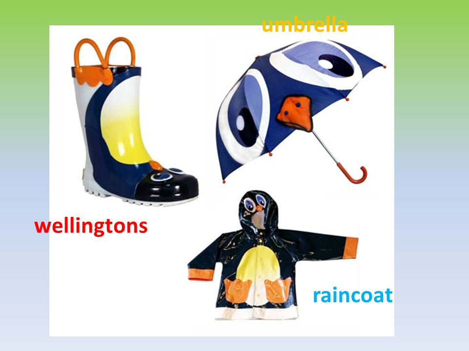 umbrella wellingtons raincoat
