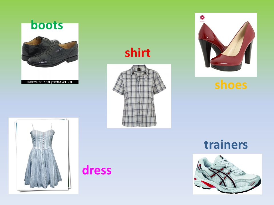boots shirt shoes trainers dress