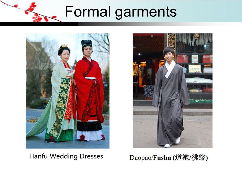 Formal garments