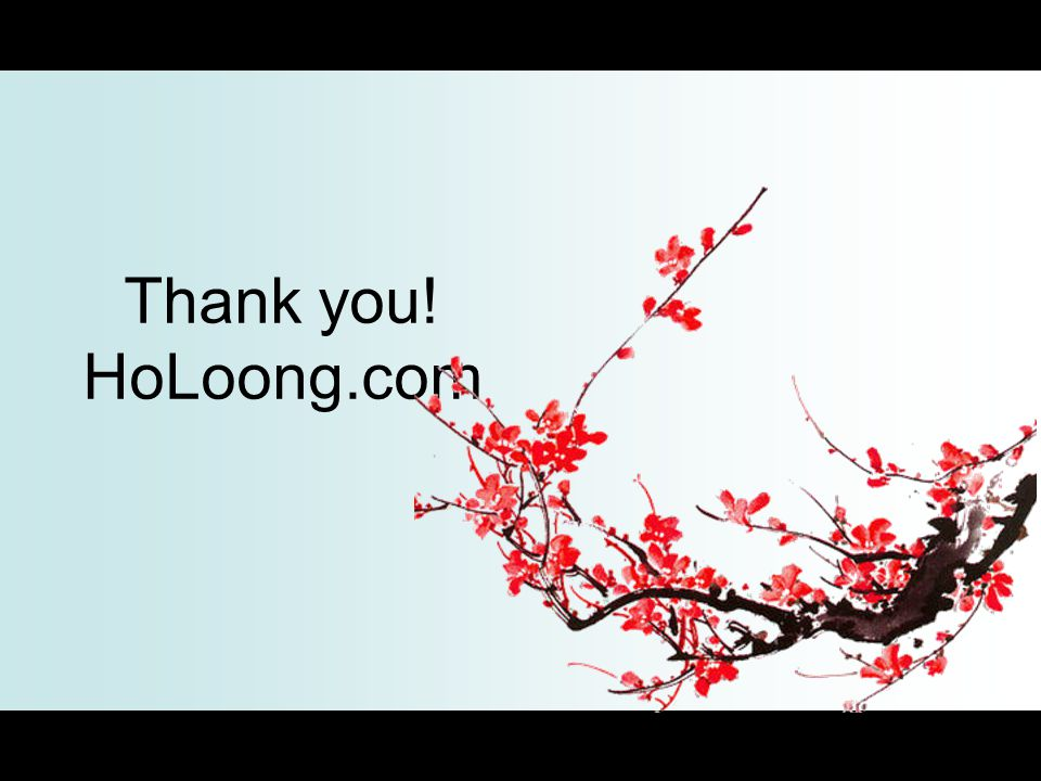 Thank you! HoLoong.com