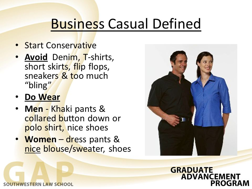 Business Casual Defined