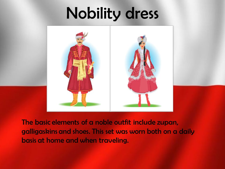 Nobility dress
