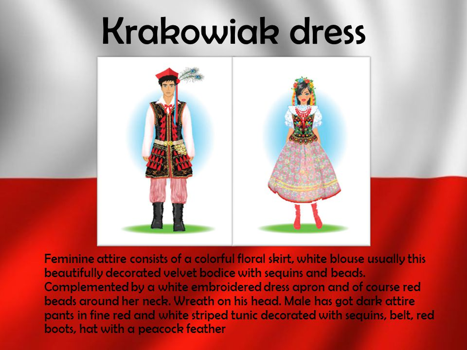 Krakowiak dress