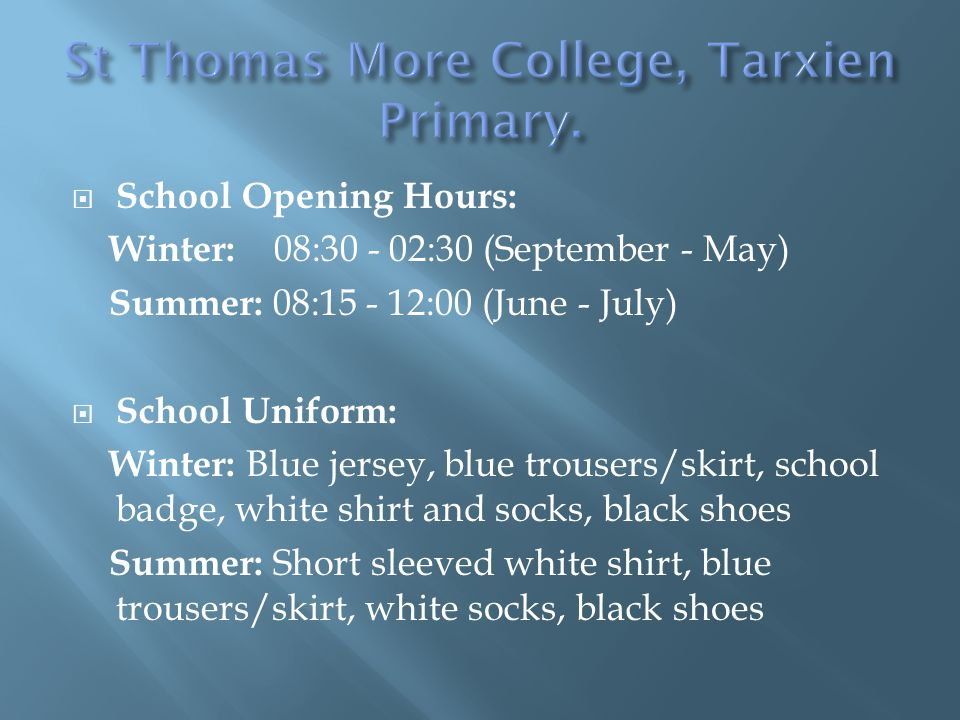 St Thomas More College, Tarxien Primary.
