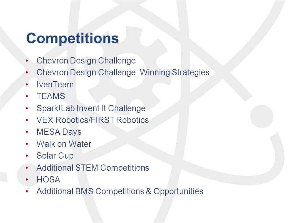Competitions Chevron Design Challenge