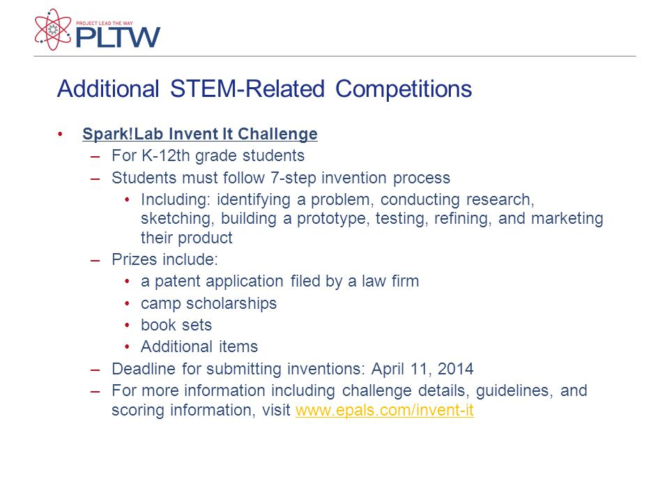 Additional STEM-Related Competitions