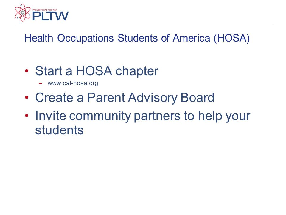 Health Occupations Students of America (HOSA)