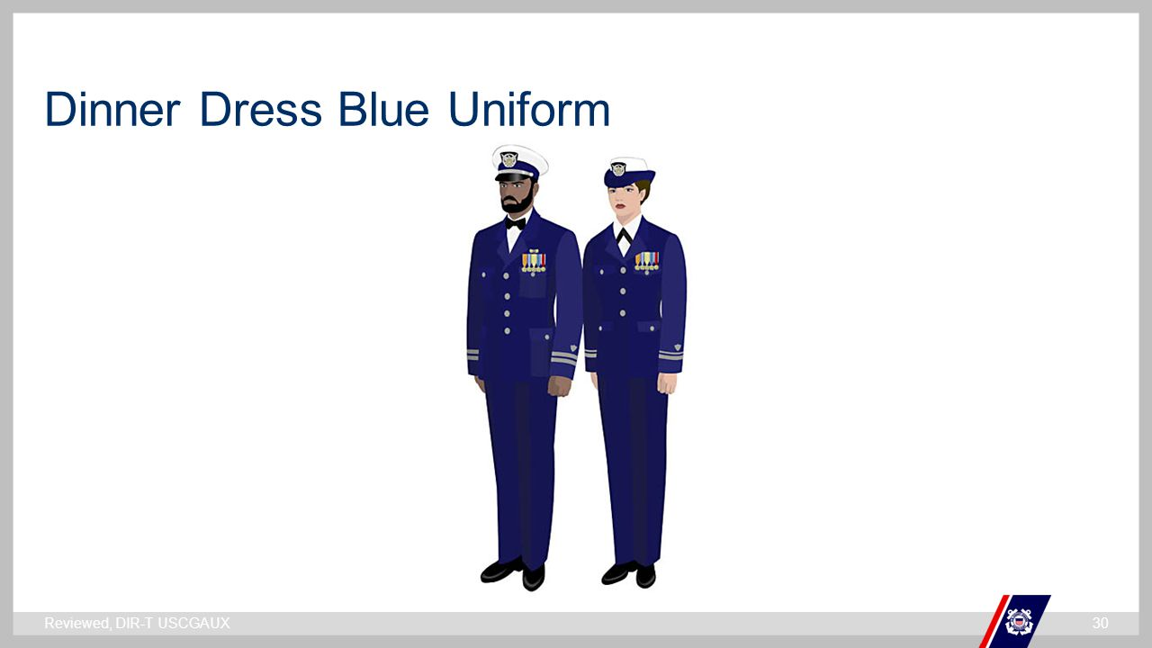 Dinner Dress Blue Uniform