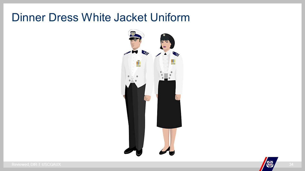 Dinner Dress White Jacket Uniform